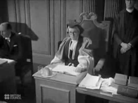 English Criminal Justice - 1946 British Council Film Collection - CharlieDeanArchives