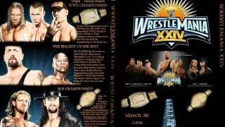 WWE Wrestlemania 24 (XXIV) Theme Song Full+HD