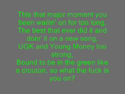 Drake Feat. Bun B. & Lil Wayne - Uptown lyrics