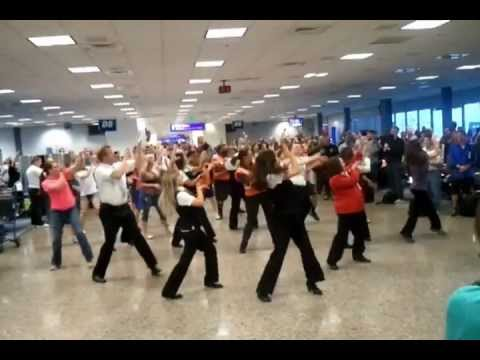 Delta Airlines Flash Mob Salt Lake City Utah