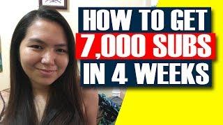 Paano kami nakakuha ng 7,000 subscribers in 4 weeks! - Paano dumami ang subscribers 2019