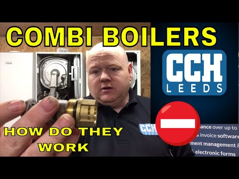 How Does A Combi Boiler Work - Boilers - Diverter Valves - Hot Water Sensor