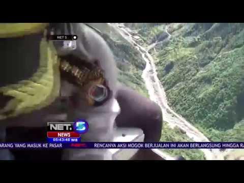 Polisi Sebar 1500 Lembar Maklumat Dari Helikopter NET5
