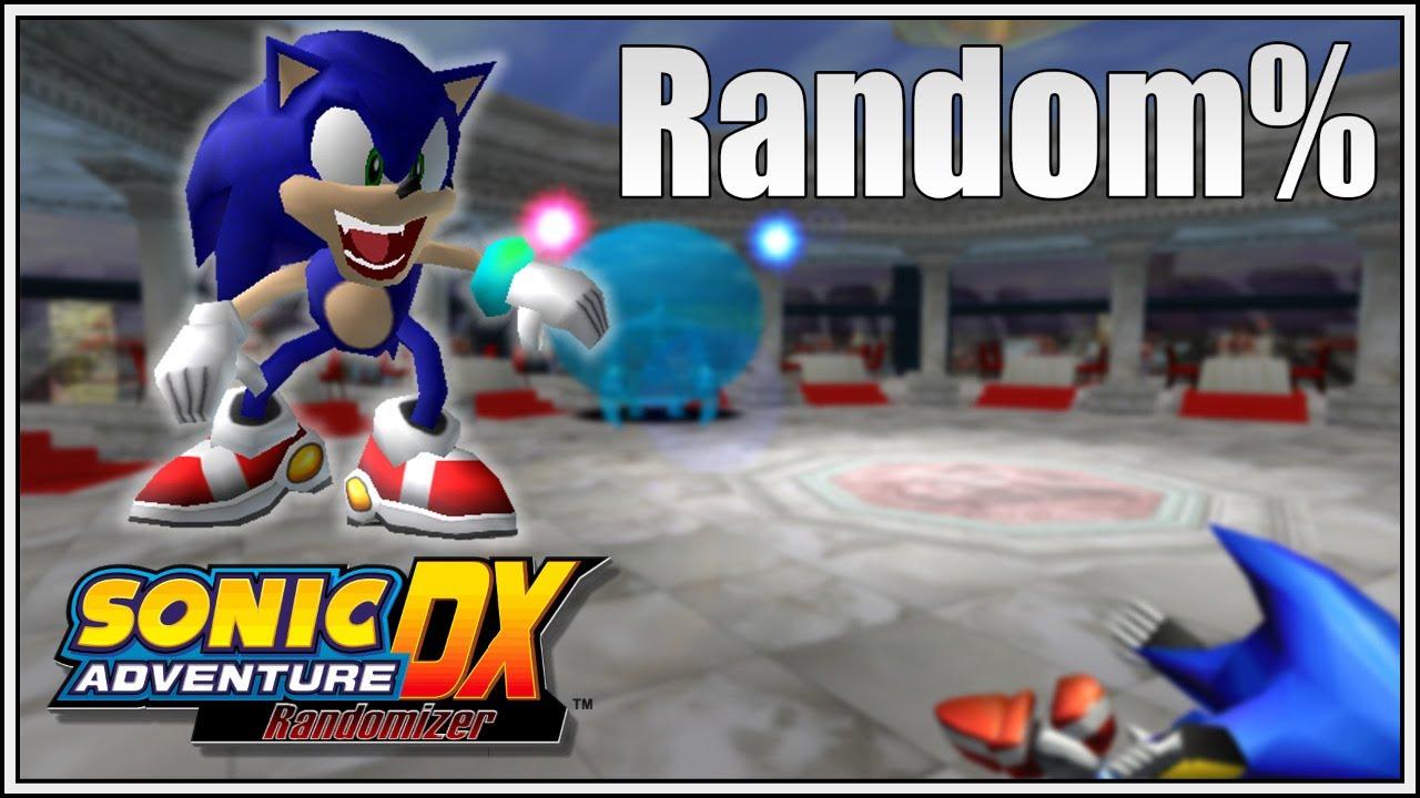 Sonic Adventure DX Random%
