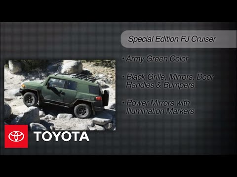 2011-2012 FJ Cruiser How-To: What's New | Toyota