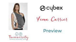 Cybex Yema Tie Carrier | ABC Kids Expo 2017