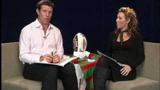 Footy Tips TV NRL Round 15 2007 Lana Taylor Jimmy Smith Prev