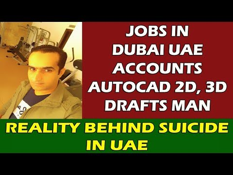 Know About Auto Cad Draftsman Jobs In Dubai UAE and Many More