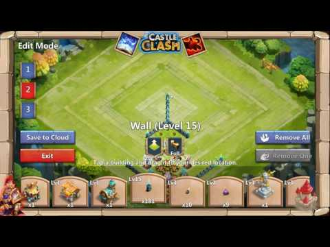 Castle Clash Stream: HBM T Base Setup And Tries?