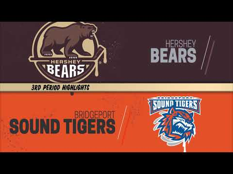 Hershey Bears 2 at Bridgeport Sound tigers 0 (Game 2) 4/20/19