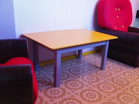 Как сделать журнальный столик How to make a table