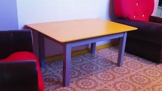 видео Как сделать журнальный столик своими руками в домашних условиях?