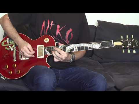Slash's Snakepit – Back To The Moment (guitar cover) with Gibson Les Paul Snakepit!!