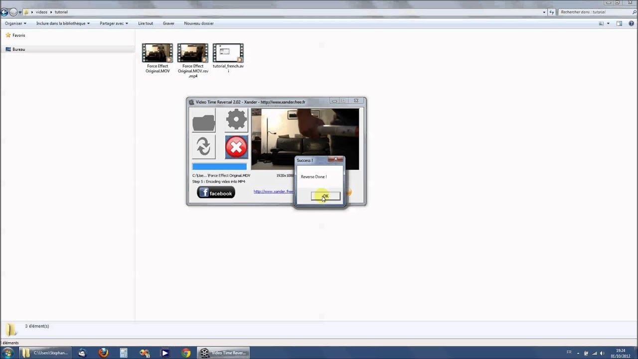 xander video time reversal