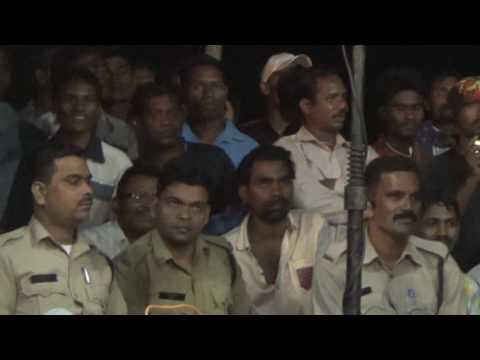 Kali kali amavash ki rat me garima diwakar singers song stage show from bhathora,korba,(c.g.)