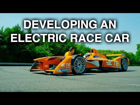 Developing An Electric Race Car - Formula E