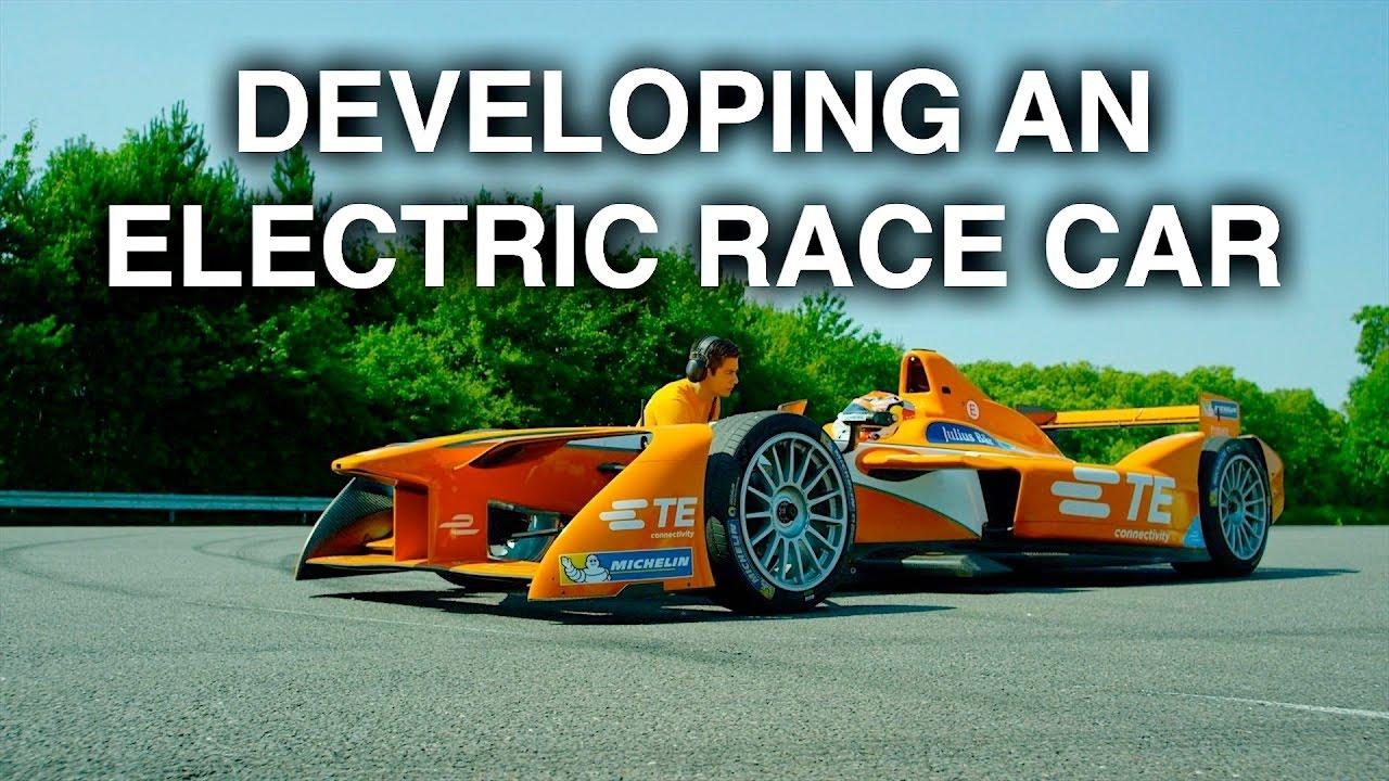 developing an electric race car formula e