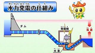 【概要版】宮崎の川から生まれる電気~水力発電のお話~