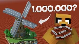 ¿PUEDES EXPLOTAR ESTA CASA CON 1 MILLÓN DE TNT? ????   TOTAL HOUSE BOMBOVER (PARTE 2)