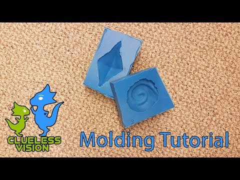 Molding Tutorial! Great for Cosplay and Making Replicas Make your own Silicone Molds
