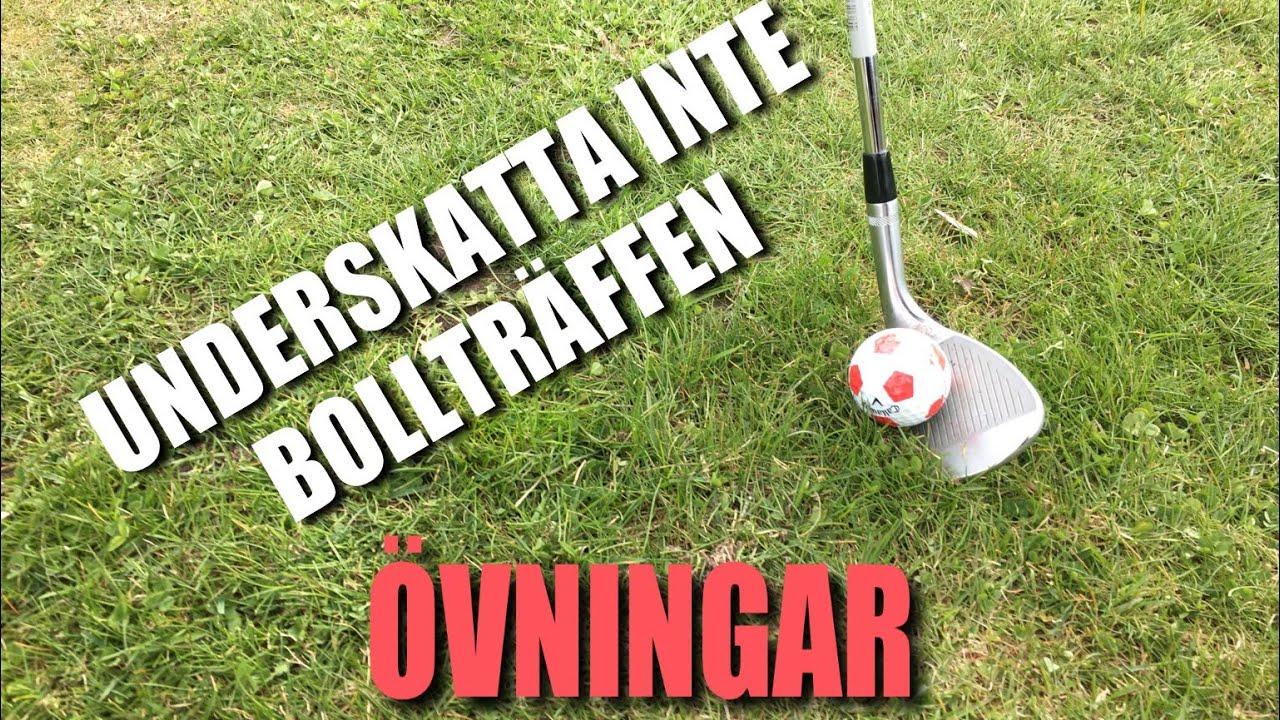 Övningar för bättre bollträff runt green...          Golf med Marcus Edblad