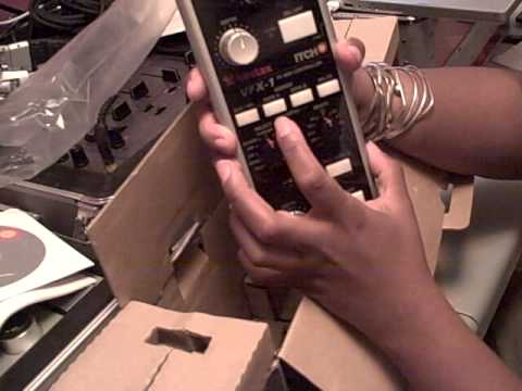 unboxing of the vestax vfx1 and the must have sippy cup