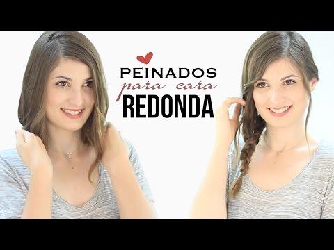 PEINADOS PARA CARA REDONDA | Cortes y peinados que adelgazan