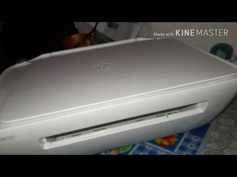 HP DESKJET 2131 ALL IN ONE PRINTER UNBOXING hindi