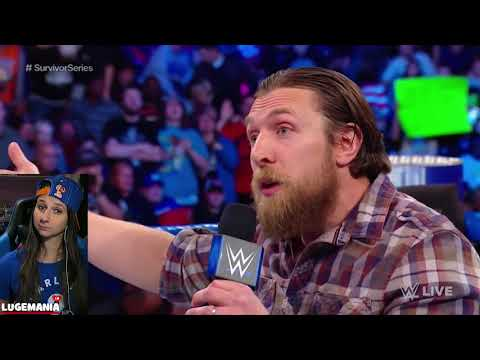 WWE Smackdown 11/14/17 AJ Styles New advocate