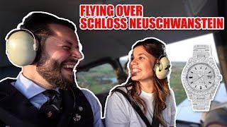 Taking an Airplane to Schloss Neuschwanstein & walking up a 2.000m hill