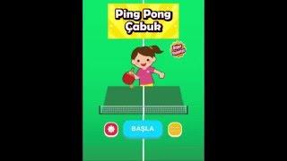 Ping Pong Çabuk