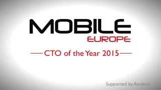 Mobile Europe CTO of the Year 2015 - Winner's presentation