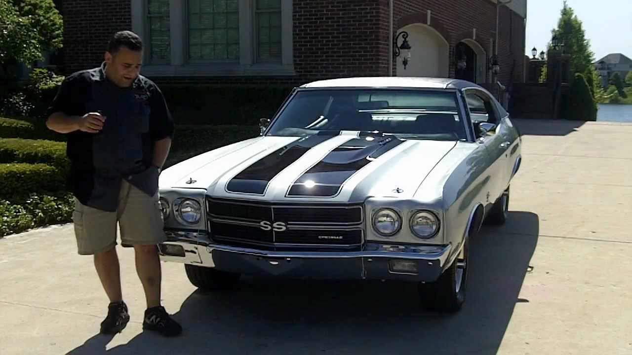 1970 Chevy Chevelle Big Block Classic Muscle Car For Sale In Mi Vanguard Motor Sales Youtube