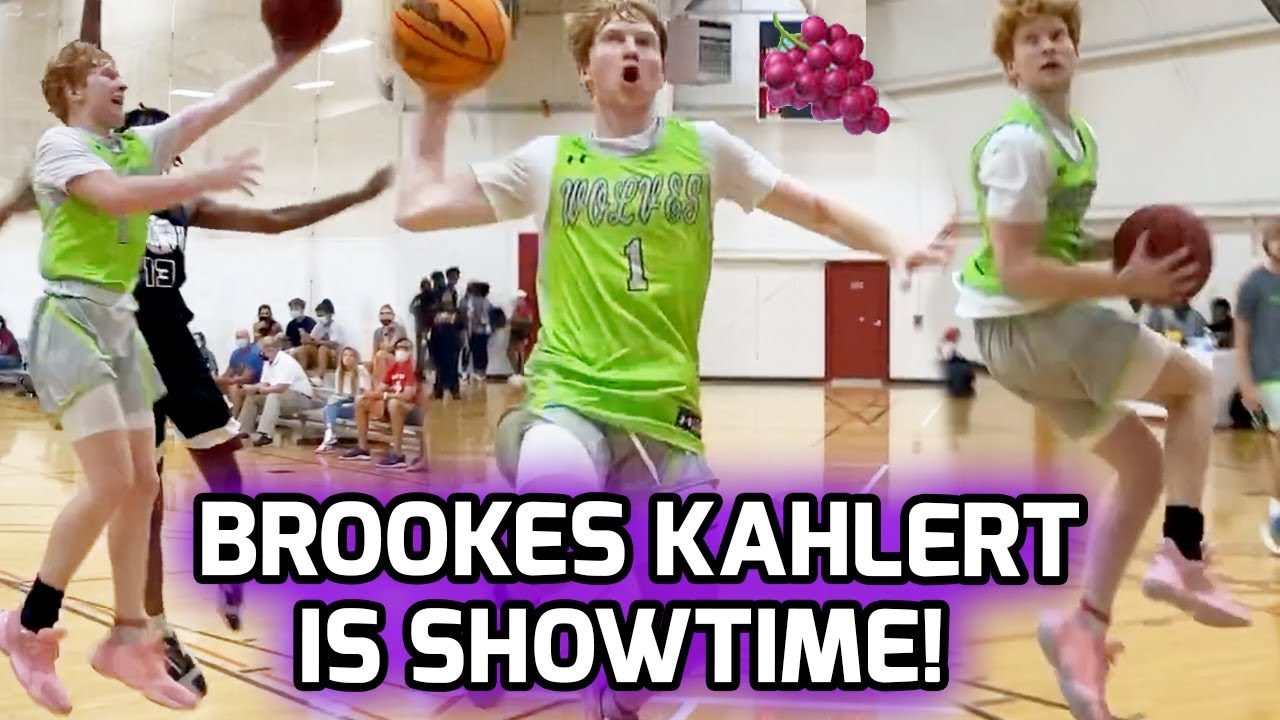 Brookes Kahlert & His Squad Might Have The MOST SAUCE EVER! Next Nico Mannion!? 👀