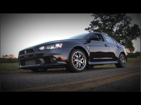 2013 Mitsubishi Lancer Evolution EVO MR Review - MPGomatic