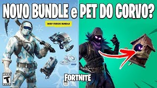 FORTNITE - DEEP FREEZE PACK e NOVO PET? BATAILLE ROYALE