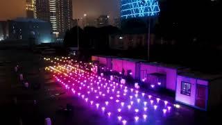 宮脇咲良ちゃんの誕生日をお祝いして中国ファンの皆さんがドローンショーを開催しました。フル映像です。