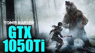 Rise of the Tomb Raider GTX 1050 Ti OC | 1080p - 900p - 720p | FRAME-RATE TEST