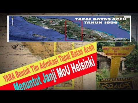 Aceh Sengketakan Tapal Batas! Sesuai Dengan Perbatasan Aceh 1 Juli 1956...