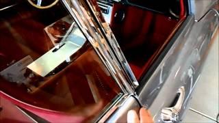 Bettie my '63 Jaguar E-Type Restoration - Installing carpets and kick panels