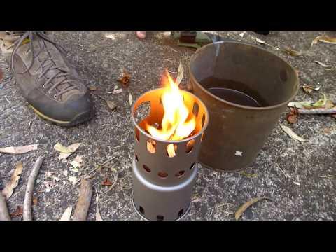 Toaks Titanium Hiking Stove Part 1