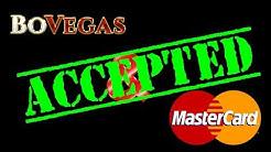 BoVegas Casino - Top Online Casino That Accepts MasterCard - $5500 Welcome Bonus