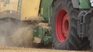 Lohnunternehmen Reiff im Einsatz: Getreideernte