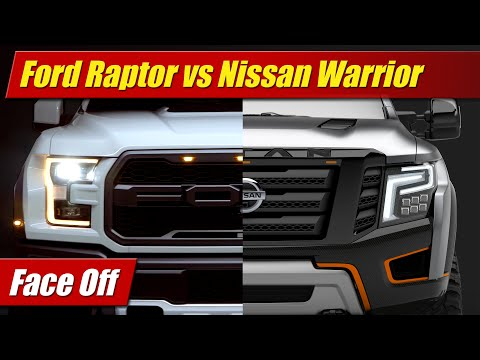 Face Off: Ford F-150 Raptor vs Nissan Titan Warrior