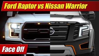 Face Off: Ford F-150 Raptor vs Nissan Titan Warrior