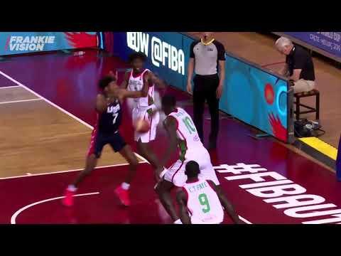 Jalen Green ( USA U19 ) vs Senegal   14 PTS   7.2.19