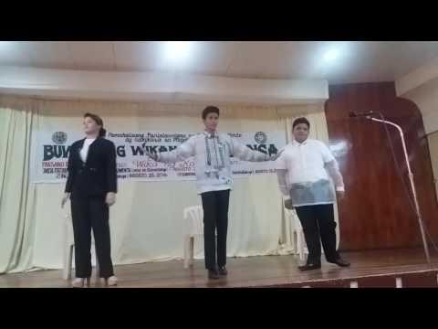 BALAGTASAN CONTEST 2016 Jose Panganiban National High School