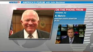 Newsmax: AZ Senator Al Melvin Explains Why He Voted For Controversial Religious Freedom Bill
