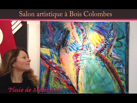 Salon artistique bois colombes peintures abstraites de - Salon indien colombes ...