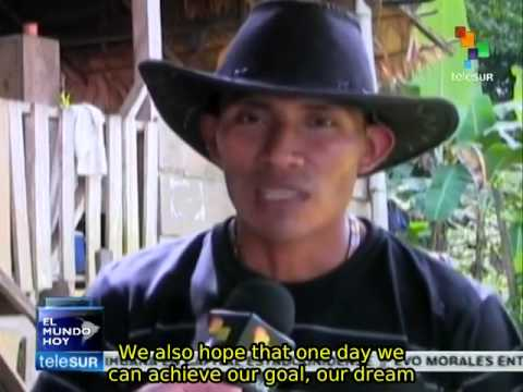 Naso people in Panama demand recognition of their territory